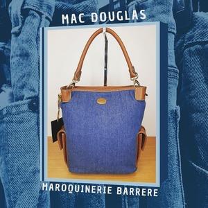 Le #jean est indémodable, la preuve avec ce sac @macdouglas_fr ! 👖  @lesvitrinesdechantilly   #jeans #mode #intemporel #shop #shoplocal #sacamain #bag #summervibes #maroquinerie #maroquineriebarrere