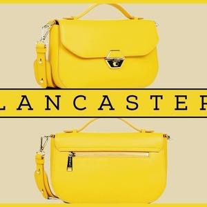 """Pour prolonger l'été, quoi de mieux que la couleur du ☀ ?  Osez le jaune du modèle """"Delphino"""" de chez @lancaster ! 😉  🖱️ A voir sur notre site 💻  #sacamains #sacamainaddict #jaune #yellow #eteindien #lancaster #lancasterbag #lancasterparis #maroquineriebarrere"""